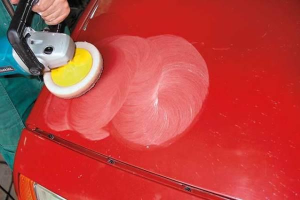 Восстановительная полировка кузова
